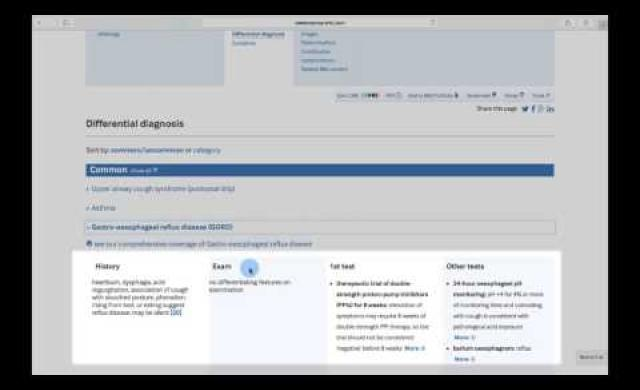 BMJ Best Practice Clinician Tutorial